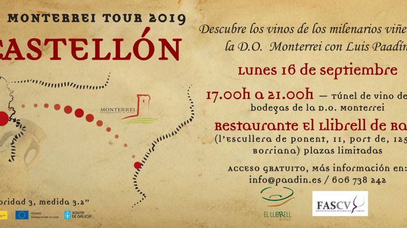 Los vinos de la D.O. Monterrei llegan a Castellón