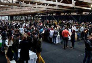 Gran presencia de público en la feria londinense de los vinos naturales