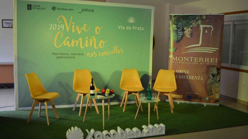 La D.O. Monterrei participa en 'Catar o Camiño' en Ourense en la 'V Feira de Nadal' en Verín.