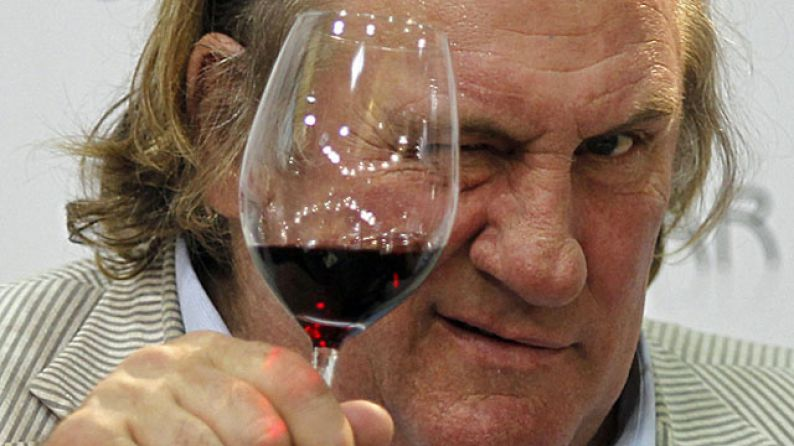 Gerard Depardieu, bodegas