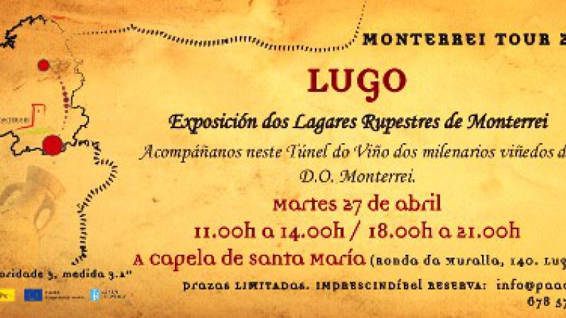 Los vinos de la D.O. Monterrei viajan a Lugo.