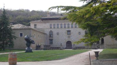 Palacio en la finca Otazu, en Navarra