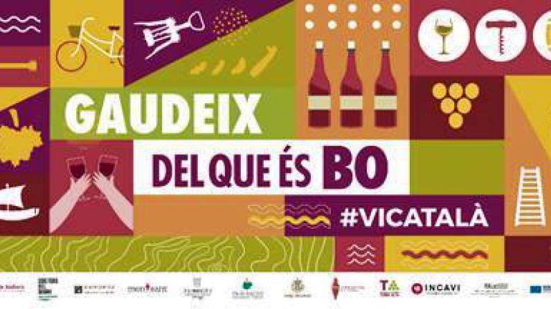 """""""GAUDEIX DEL QUE ÉS BO"""", la campaña conjunta de las denominaciones de origen catalanas para promover el consumo de vinos catalanes."""