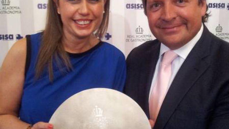 """Gemma Vela, primer sumiller del Hotel Ritz, Premio Nacional de Gastronomía """"Mejor Sumiller"""