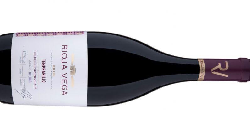 Rioja Vega Colección Tempranillo tinto 2018, 93,8 puntos & Medalla Oro Concurso Mundial de Tempranillos.