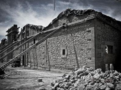 Reconstrucción castillo de ygay