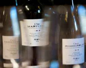 Botellas en Mas Martinet