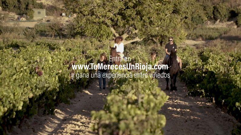 Imágenes del nuevo Spot de 'Te Mereces Un Rioja'.