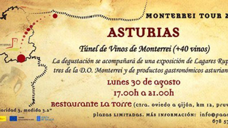 Asturias, próxima parada de los vinos de la D.O. Monterrei
