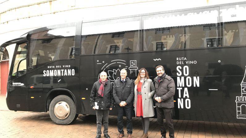 Itinerarios 2018 para el Bus del Vino desde Zaragoza y Huesca, y una nueva ruta desde Lérida, Binéfar, Monzón y Barbastro.