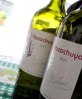 Botellas de la Bodega Yacocucha