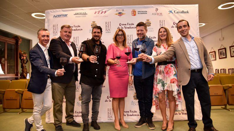 Éxito rotundo de la 2ª Gran Fiesta de la Vendimia de Ribera del Duero.