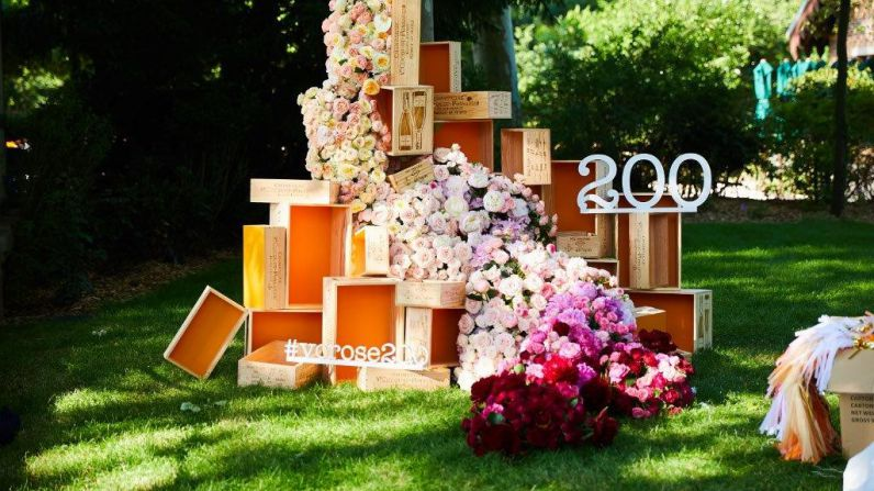 Veuve Clicquot celebra en París el 200 aniversario de su Rosé.