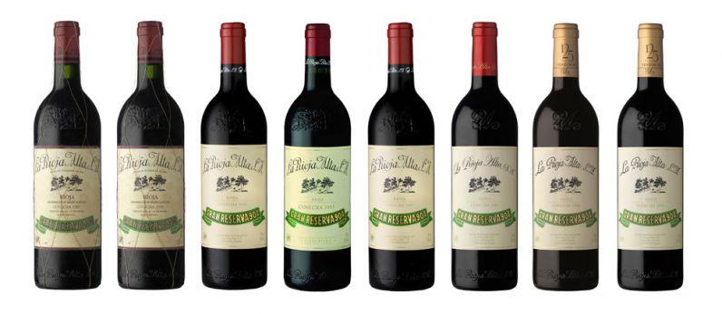Cata vertical de Rioja Alta Gran Reserva 904 (1982-2005)