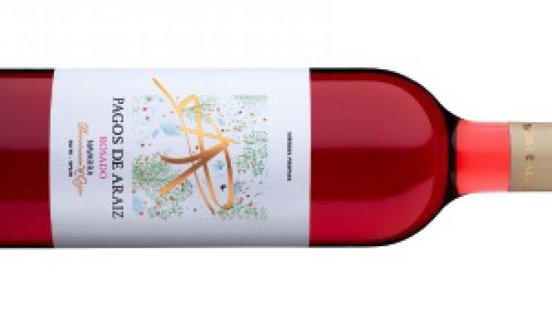 Pagos de Araiz Rosado, el mejor vino rosado de Navarra.