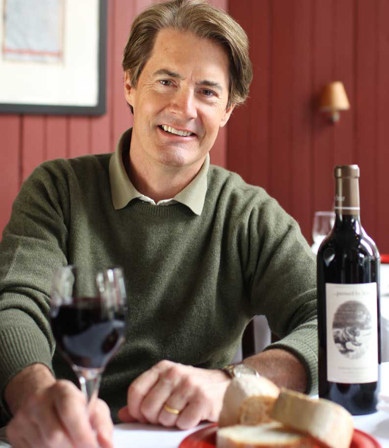 Kyle MacLachlan, owner of Pursued by Bear