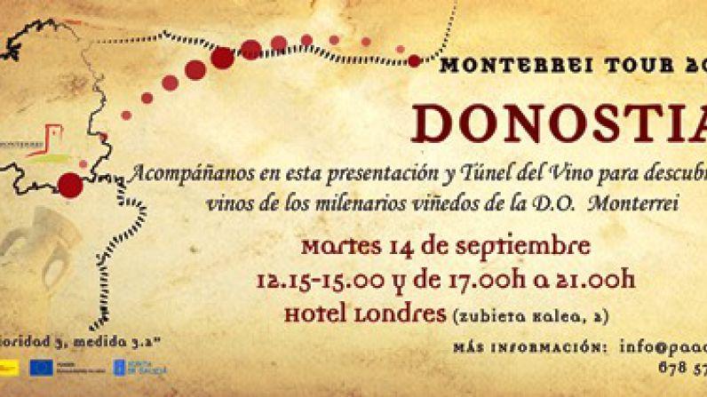 Los vinos de Monterrei en el 'Showroom Vidivinos' de San Sebastián